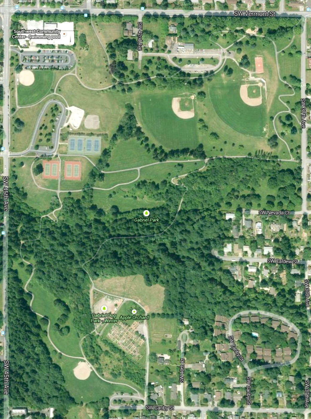 Maps | Friends of Gabriel Park
